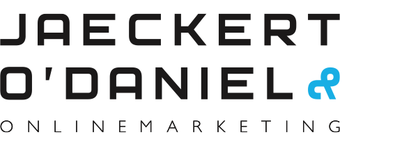 Jaeckert & O'Daniel Onlinemarketing Logo