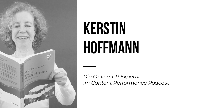 Kerstin Hoffmann im Content Performance Podcast