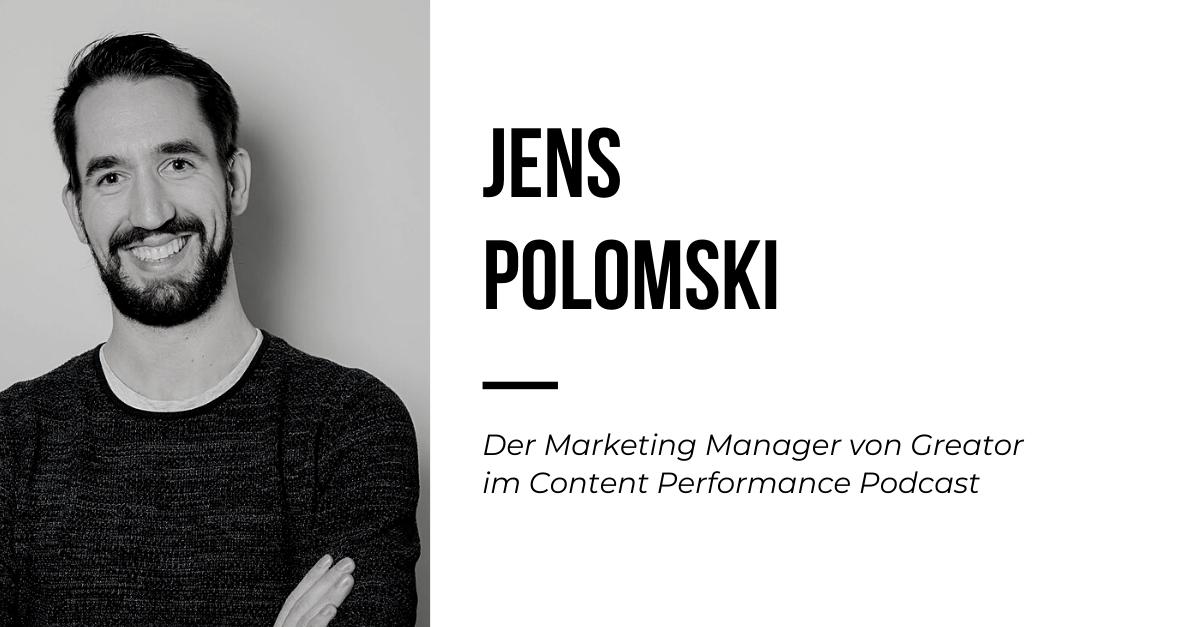 Podcast mit dem LinkedIn Influencer Jens Polomski